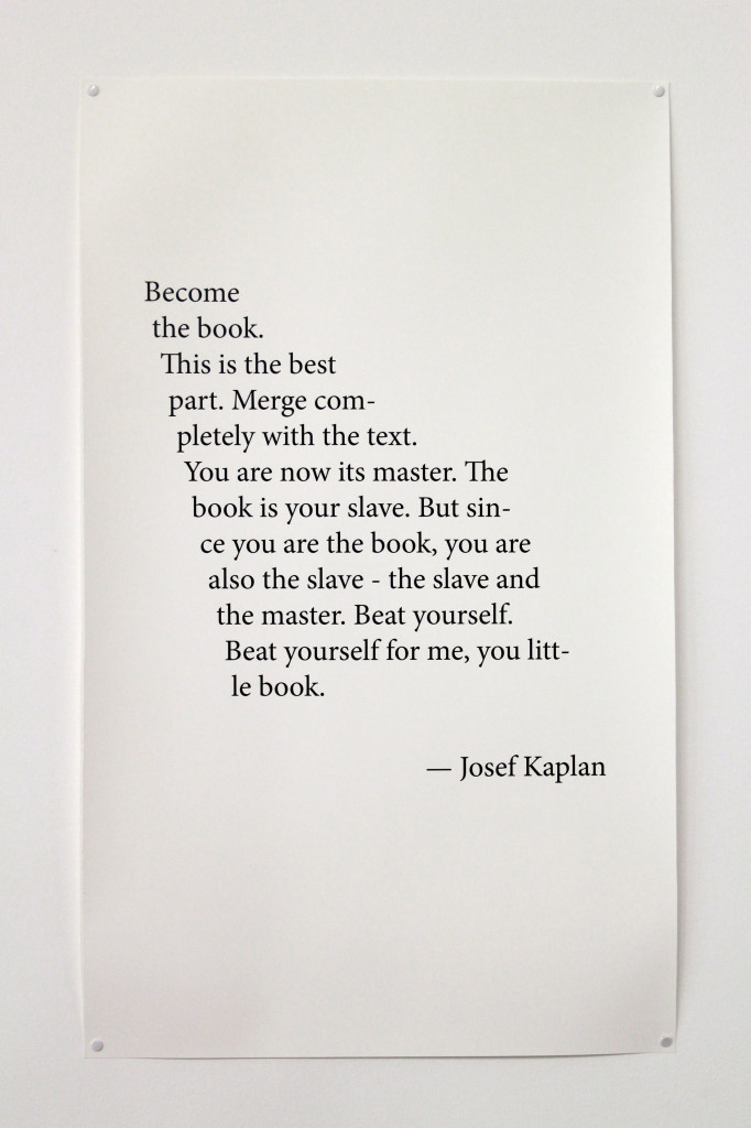 Kaplan - Become the book